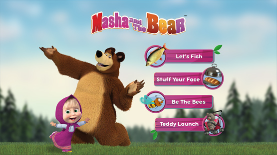 Masha and the Bear Games By Dubit Limited